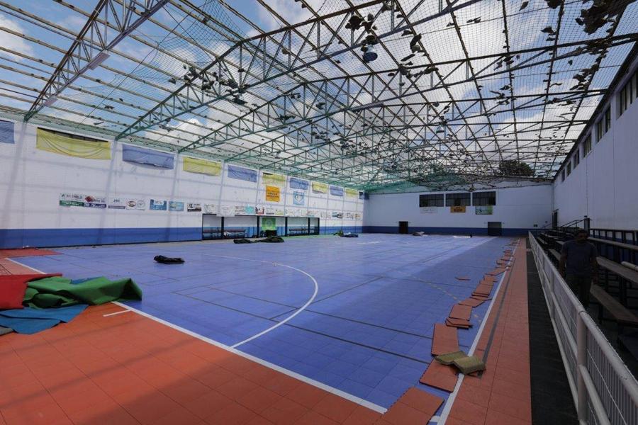 Lousã: Pavilhão de Serpins recebe nova cobertura