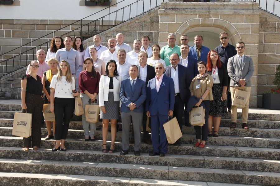Autarcas albaneses recebidos em Castelo Branco em périplo por Aveiro, CoimbraeLisboa