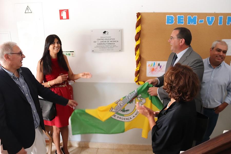 Proença faz aposta na educação em Sobreira Formosa com ampliação do Centro Educativo