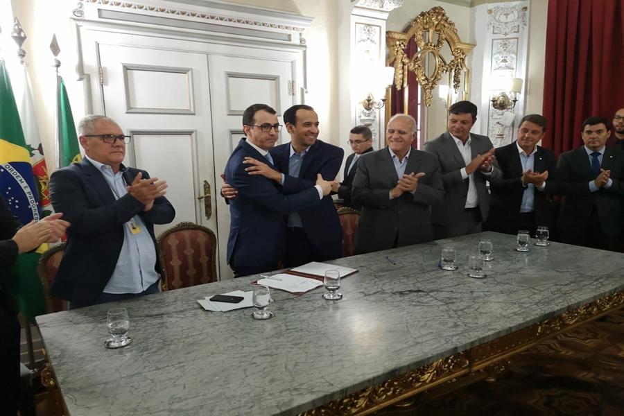 Lousã e Santos assinam acordo de geminação